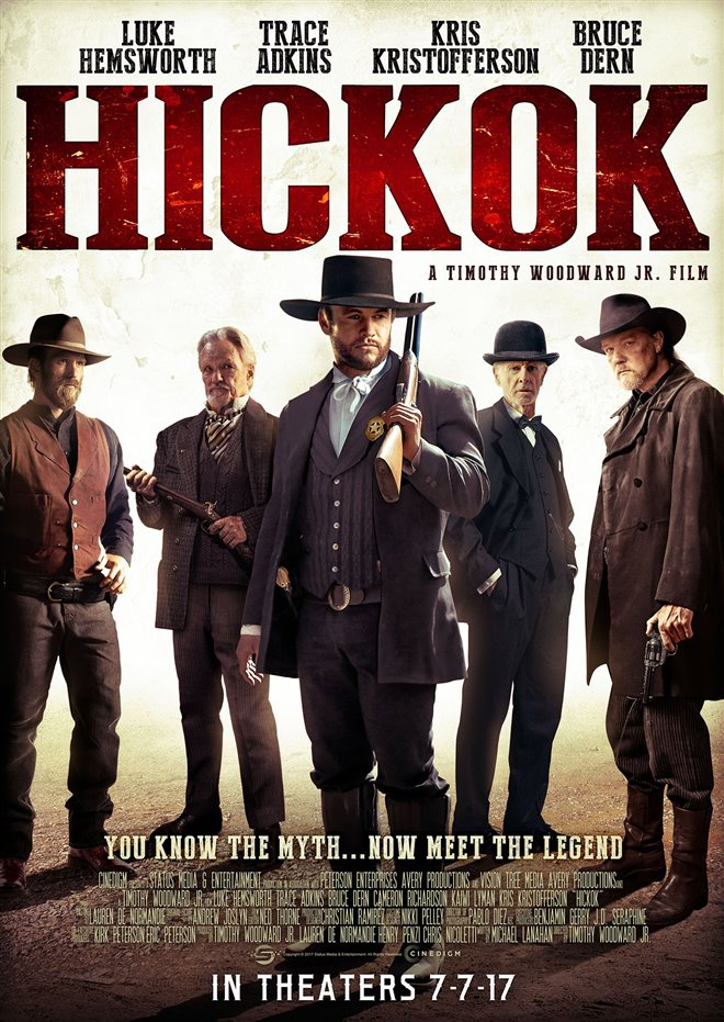 Hickok Large Poster