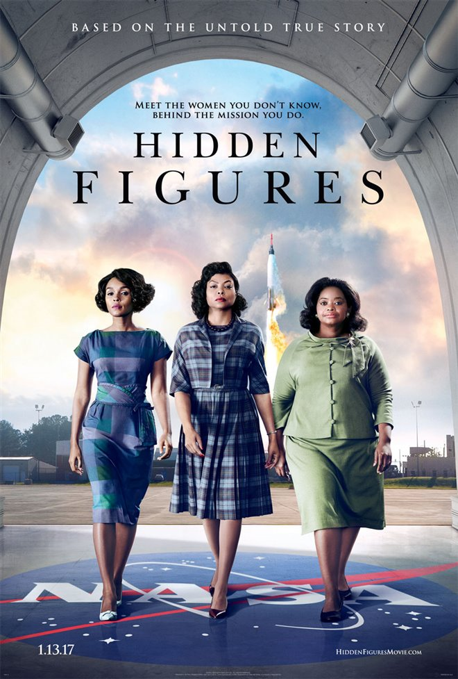 Hidden Figures Large Poster
