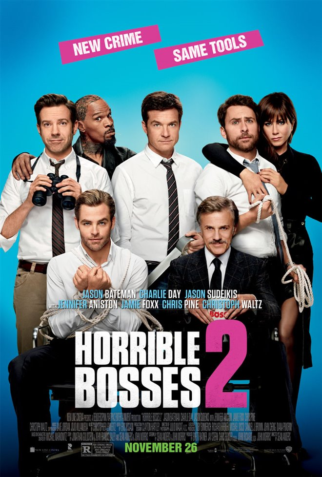 Horrible Bosses 2 Large Poster