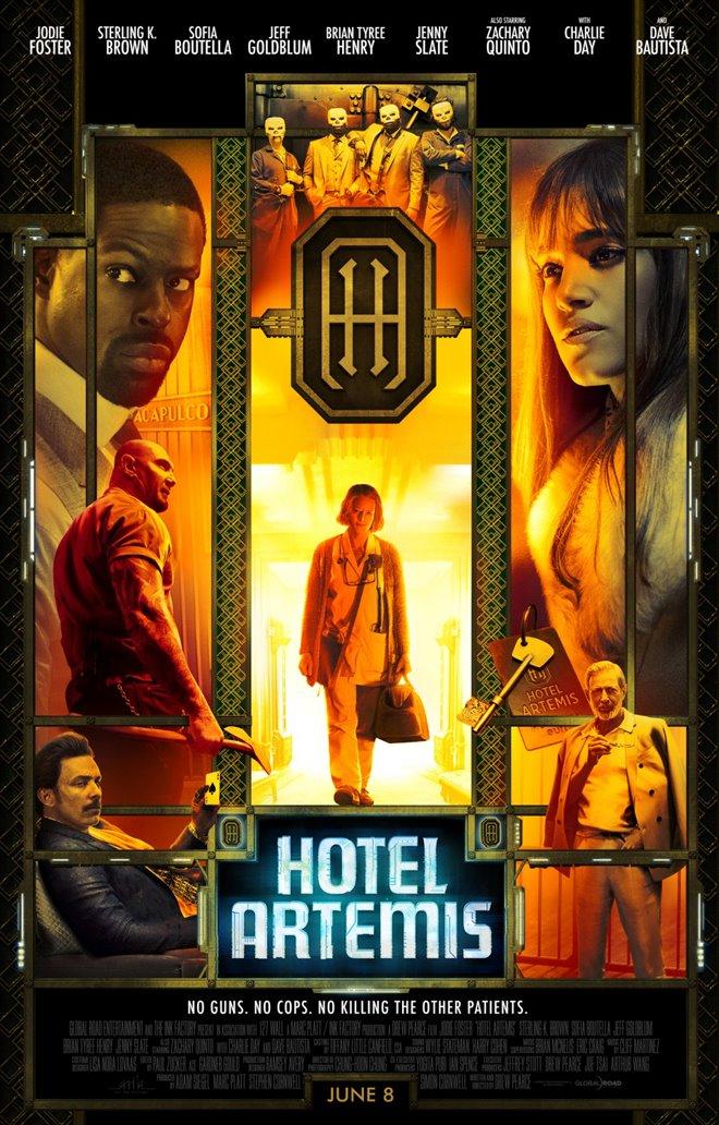 Hotel Artemis Large Poster