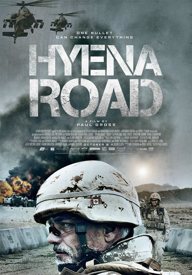 Hyena Road Large Poster
