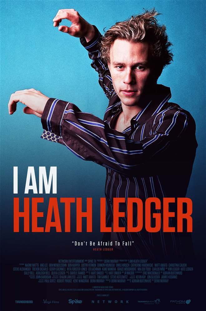 I Am Heath Ledger Large Poster