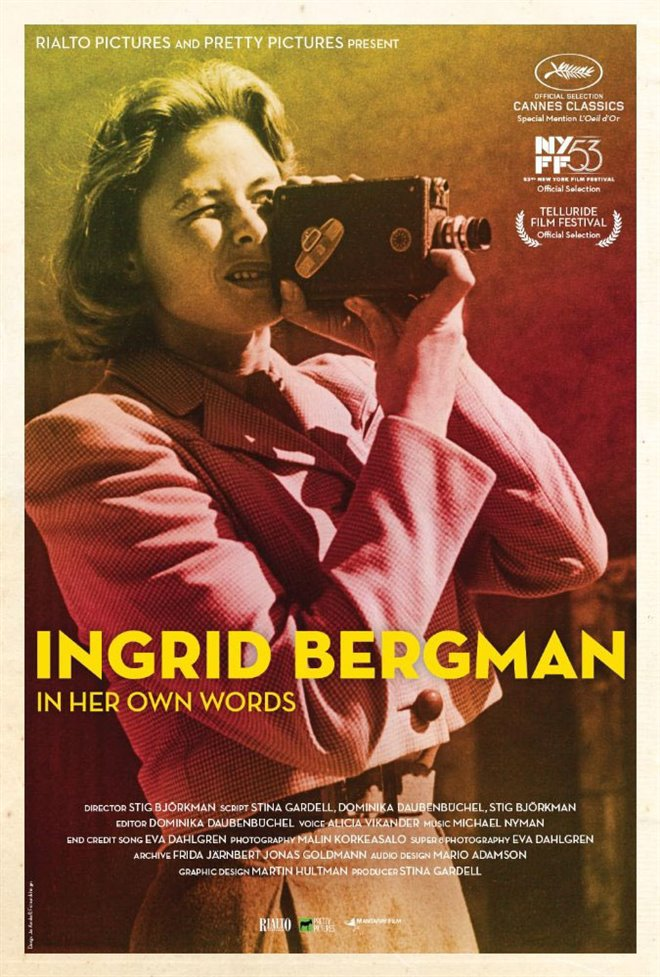 Ingrid Bergman: In Her Own Words Large Poster