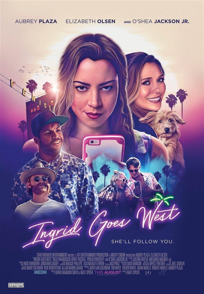 Ingrid Goes West Large Poster