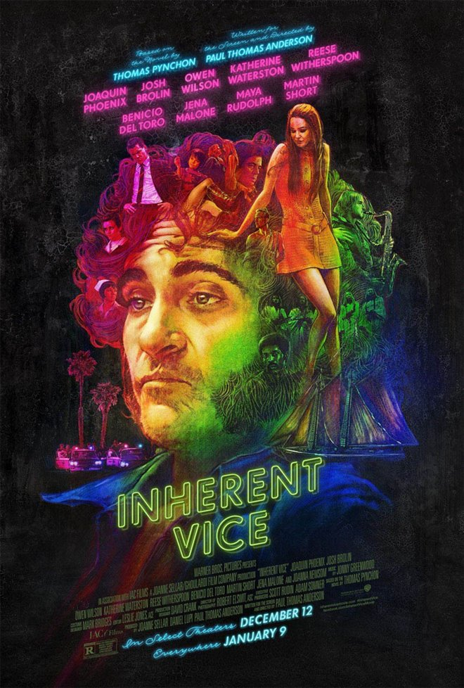 Inherent Vice Large Poster