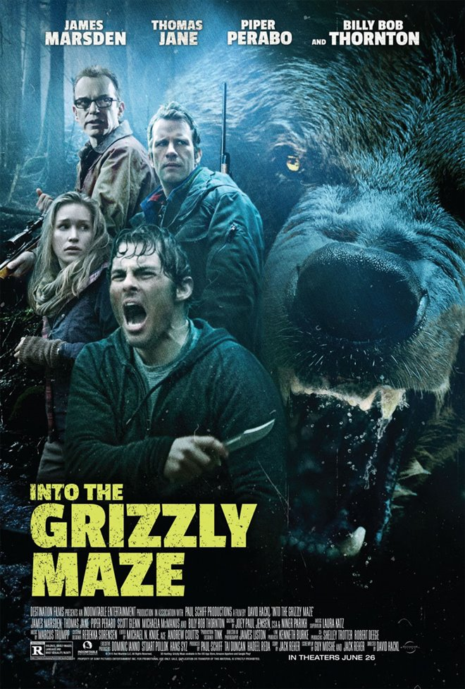 Into the Grizzly Maze Large Poster