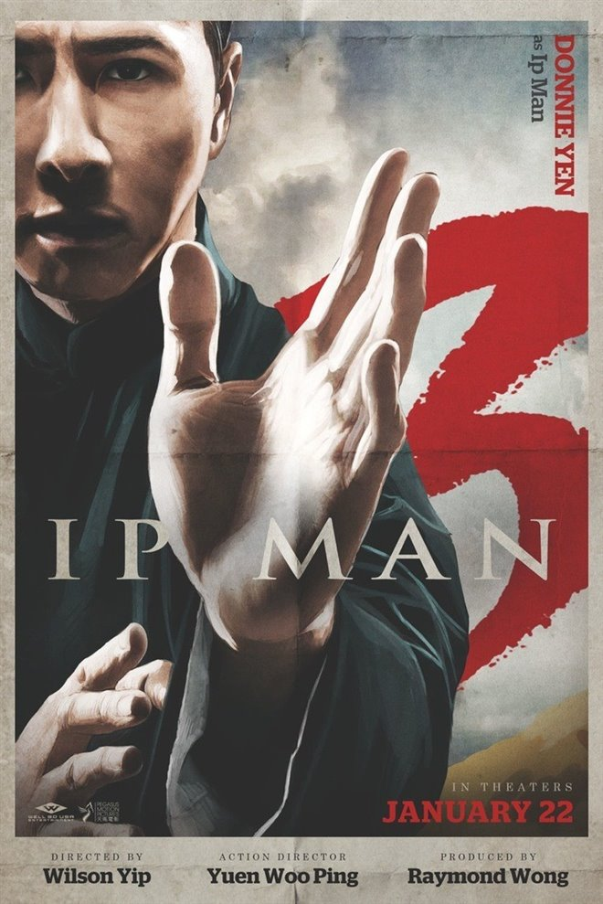 Ip Man 3 Large Poster
