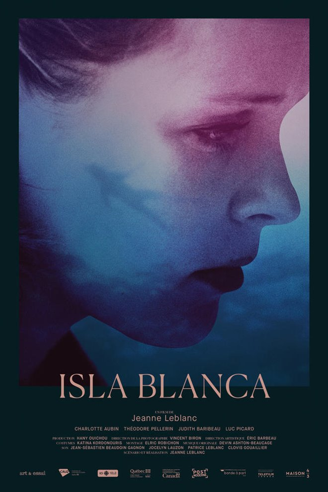Isla Blanca Large Poster