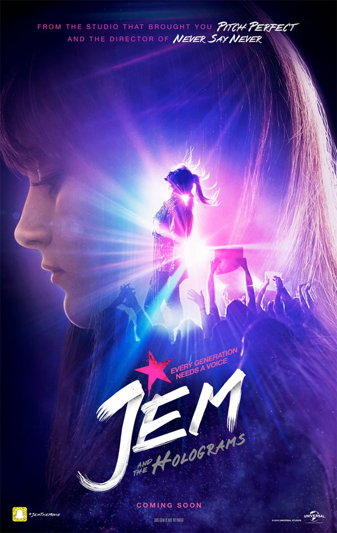 Jem and the Holograms Large Poster