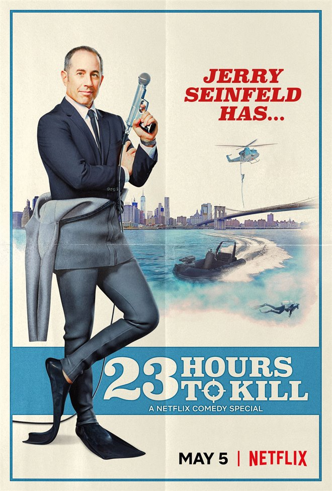 Jerry Seinfeld: 23 Hours to Kill (Netflix) Large Poster