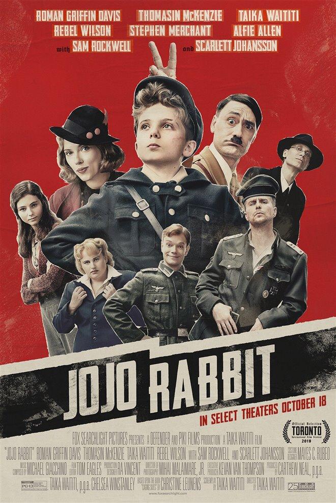 Jojo Rabbit Large Poster