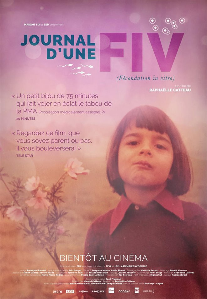 Journal d'une FIV Large Poster