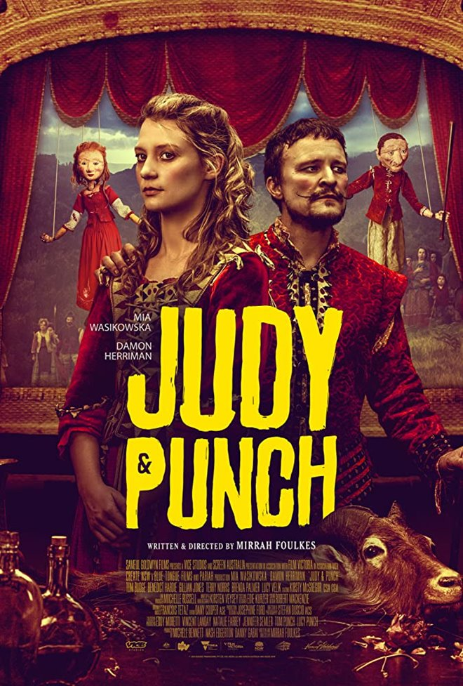Judy & Punch Large Poster
