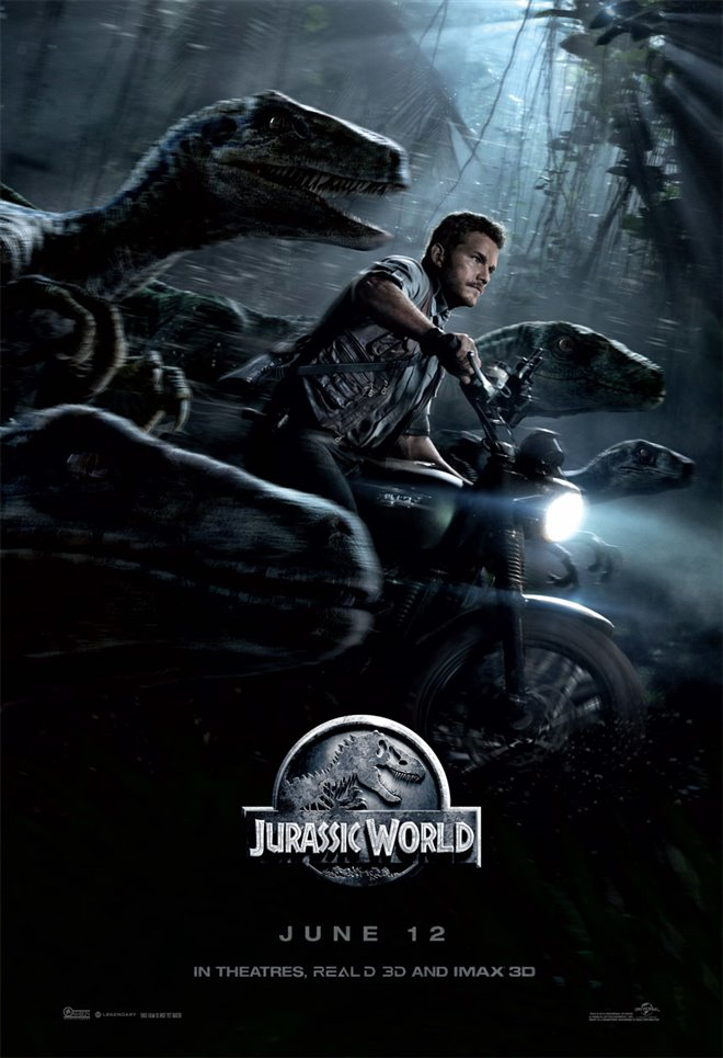 Jurassic World Large Poster