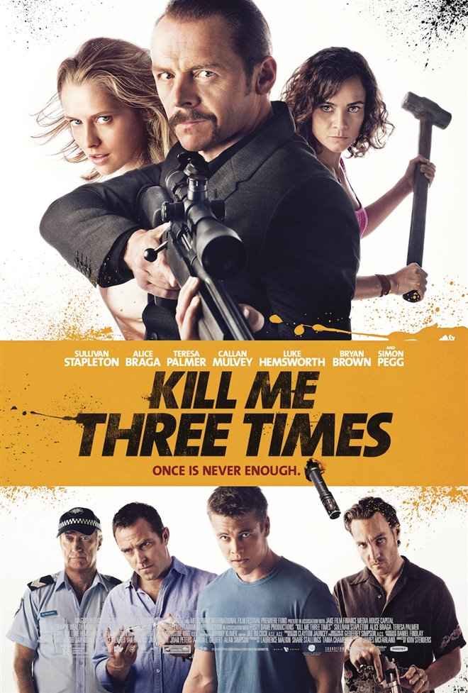 Kill Me Three Times Large Poster