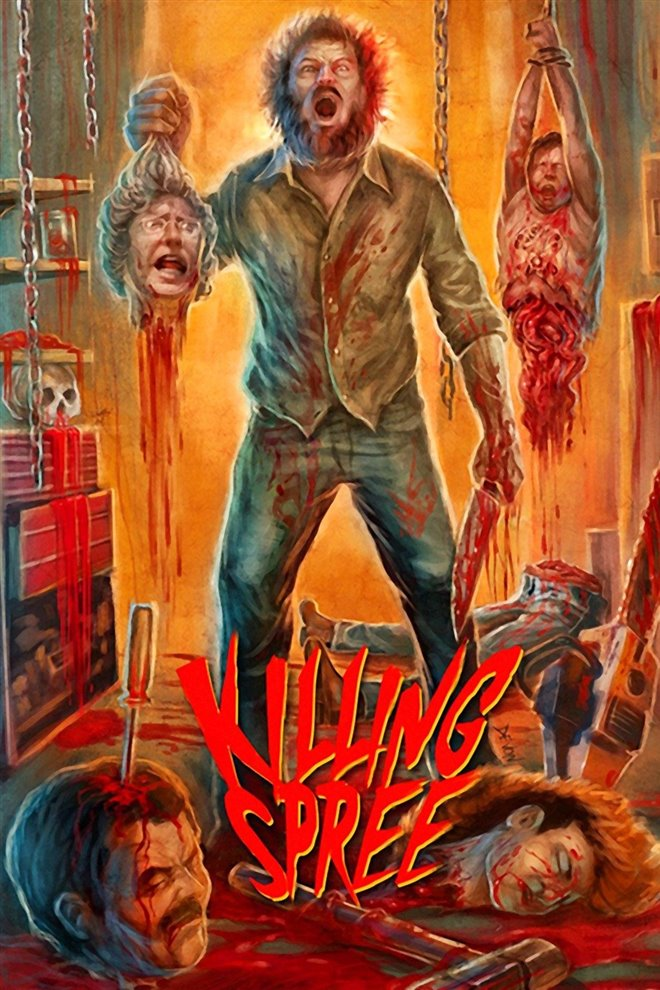 Killing Spree (1987) Large Poster