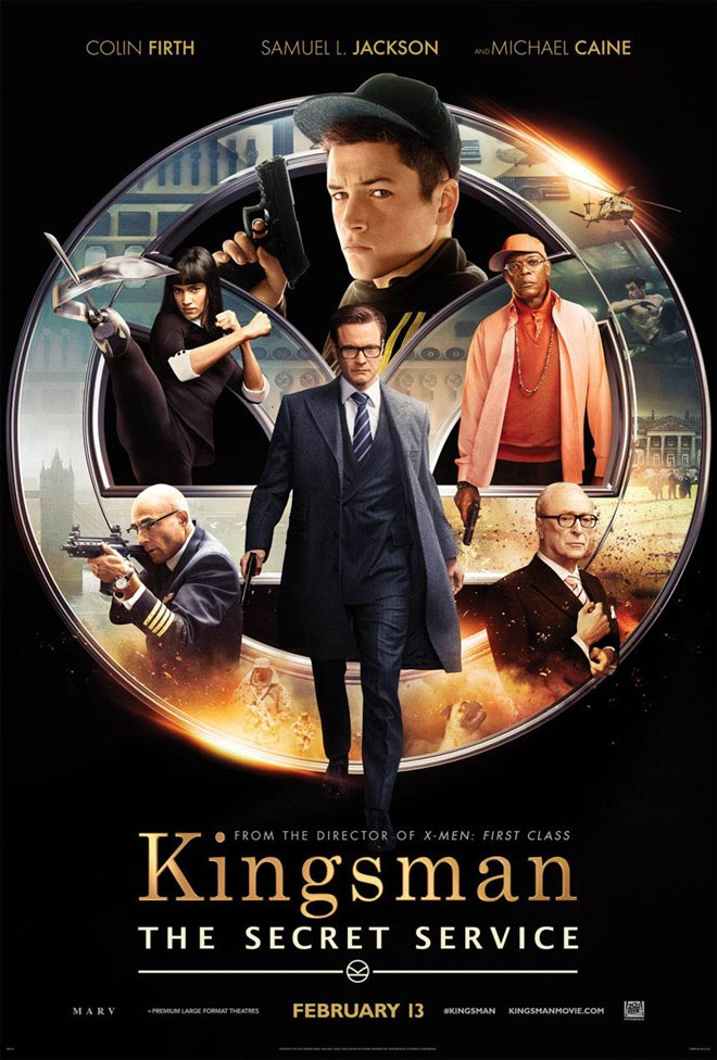 Kingsman: The Secret Service Large Poster