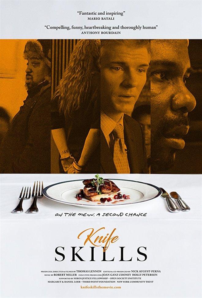 Knife Skills Large Poster