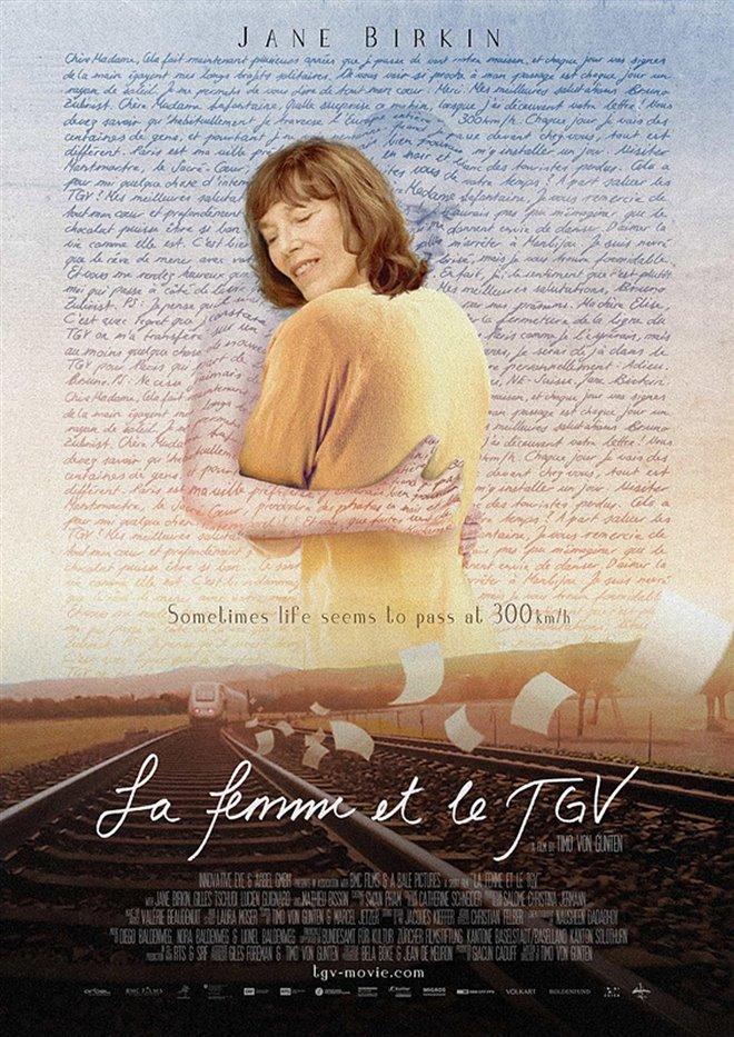 La femme et le TGV Large Poster