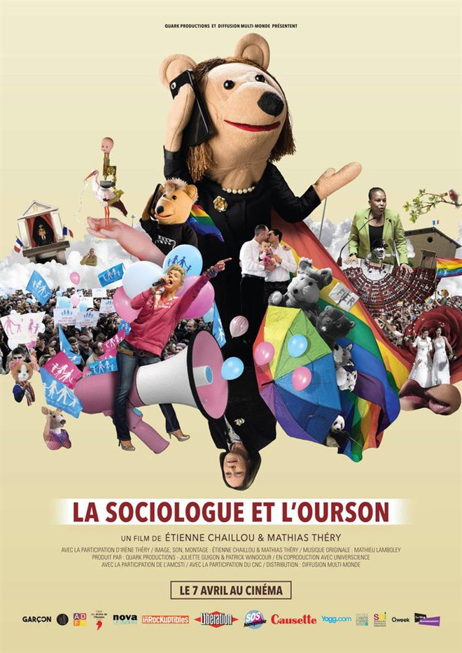 La sociologue et l'ourson Large Poster