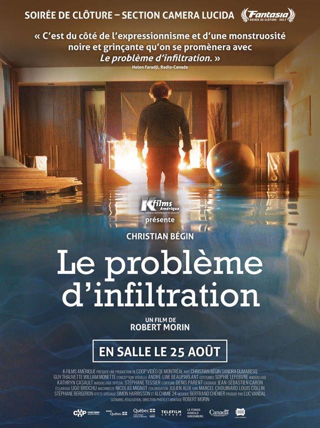 Le problème d'infiltration Large Poster