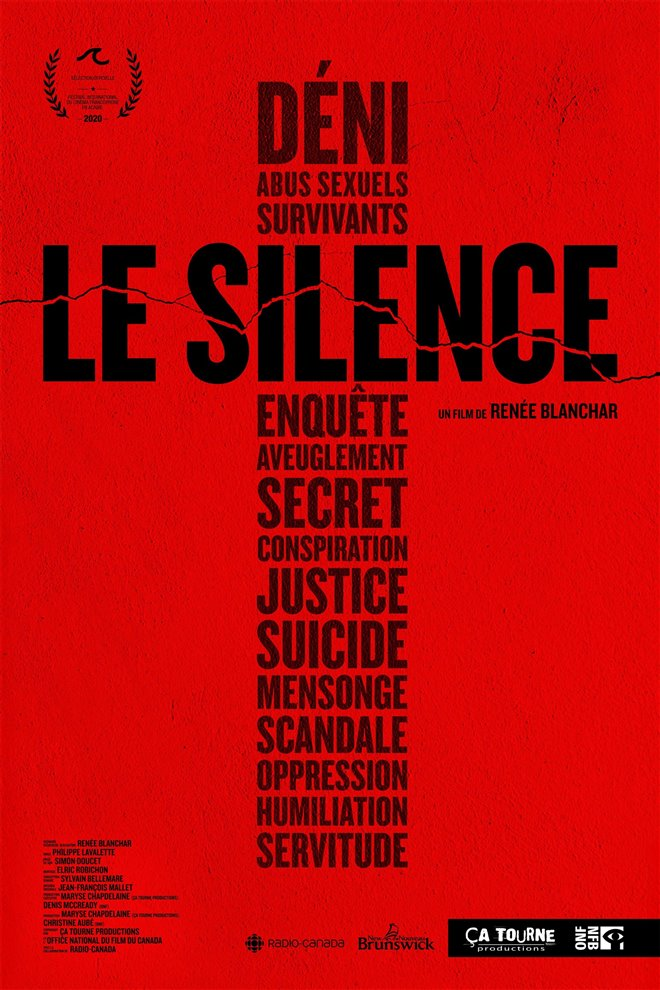 Le silence Large Poster