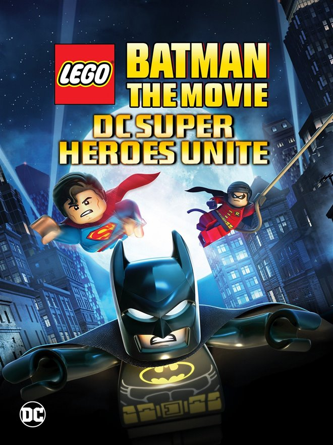 LEGO Batman: The Movie - DC Superheroes Unite Large Poster