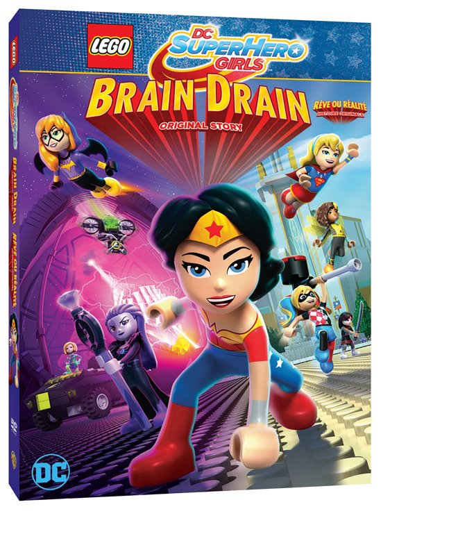 LEGO DC Super Hero Girls: Brain Drain Large Poster