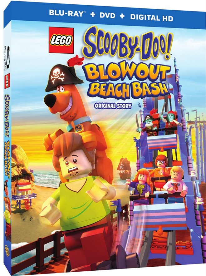 LEGO Scooby-Doo! Blowout Beach Bash Large Poster