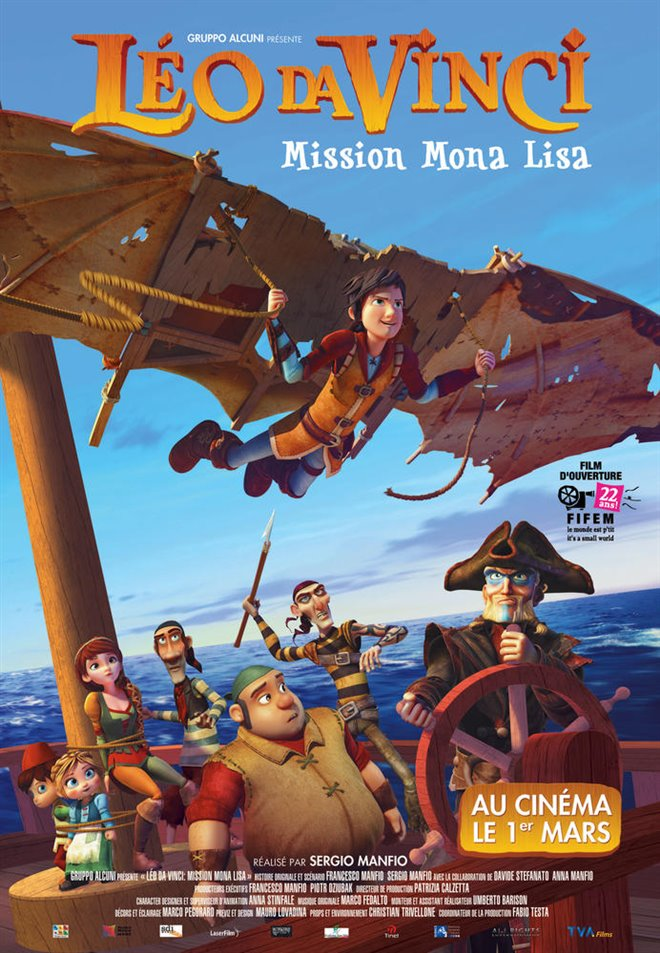 Leo Da Vinci: Mission Mona Lisa Large Poster