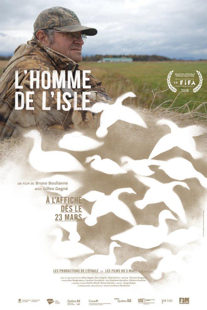 L'homme de l'Isle Large Poster