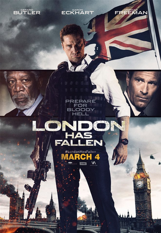 London Has Fallen Large Poster
