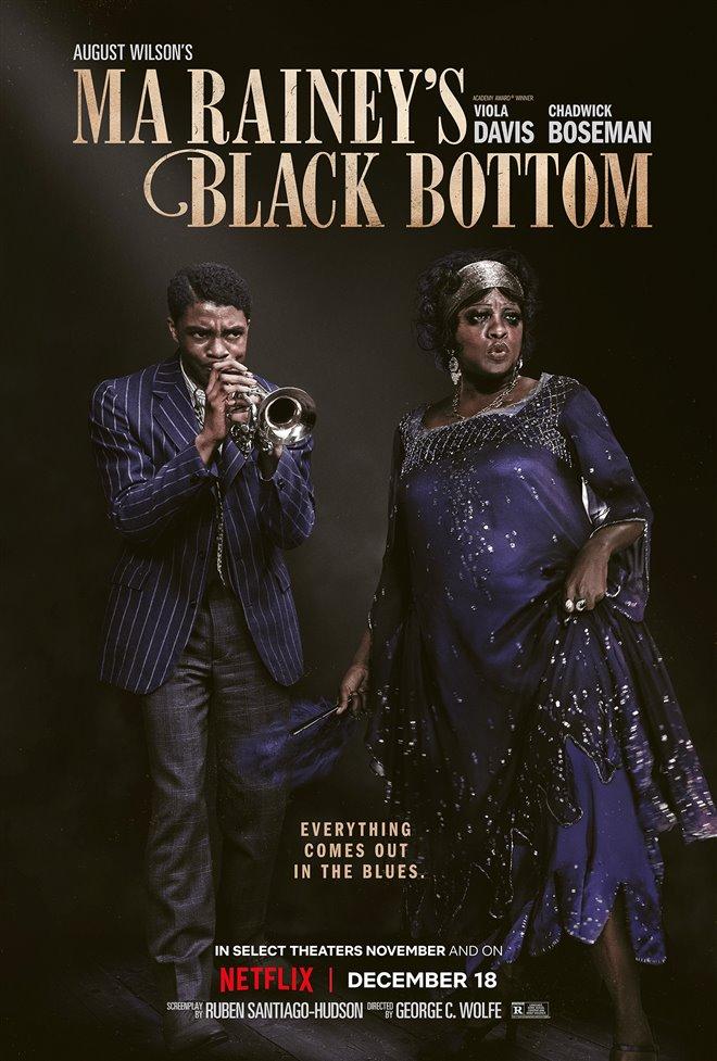 Ma Rainey's Black Bottom (Netflix) movie large poster.