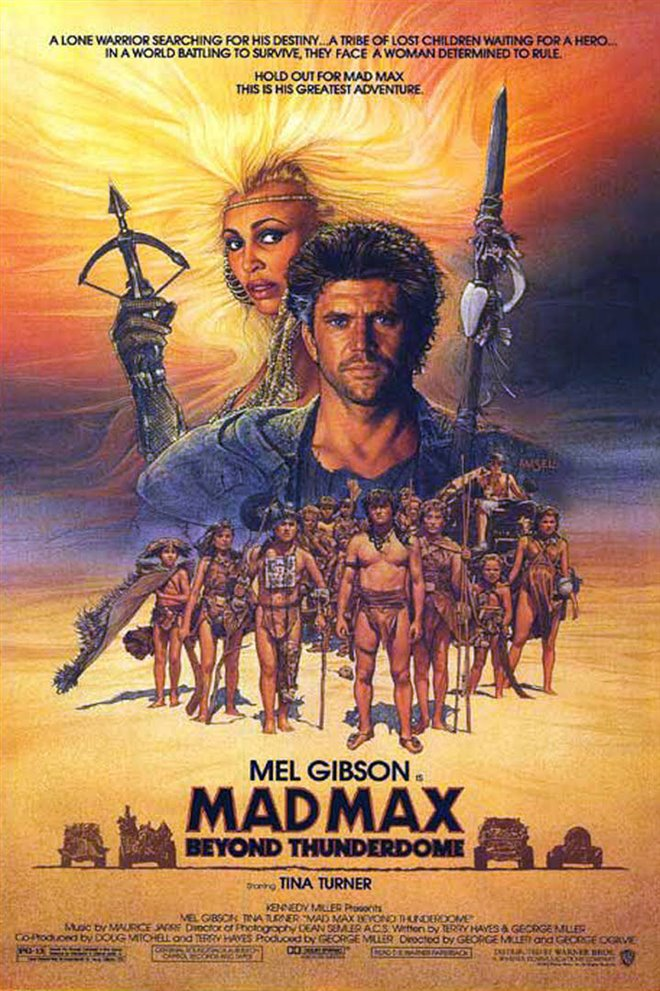 Mad Max Beyond Thunderdome Large Poster