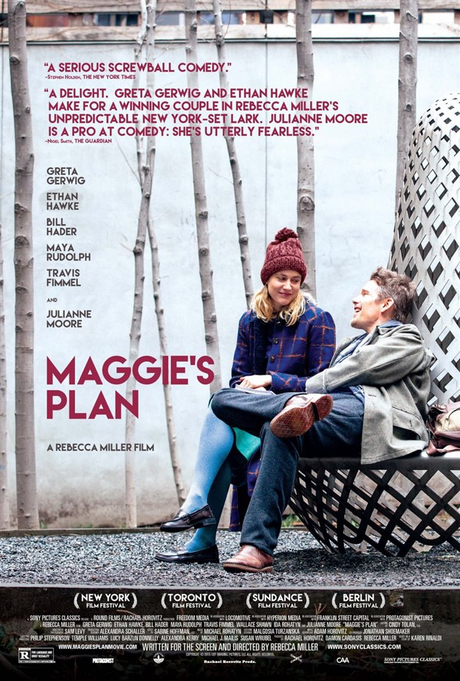 Maggie's Plan Large Poster