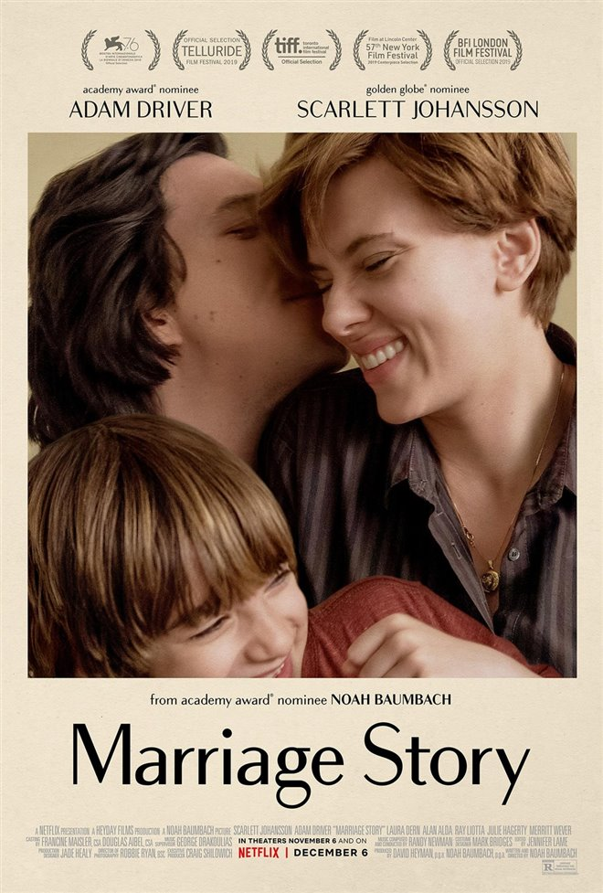 Marriage Story (Netflix) Large Poster