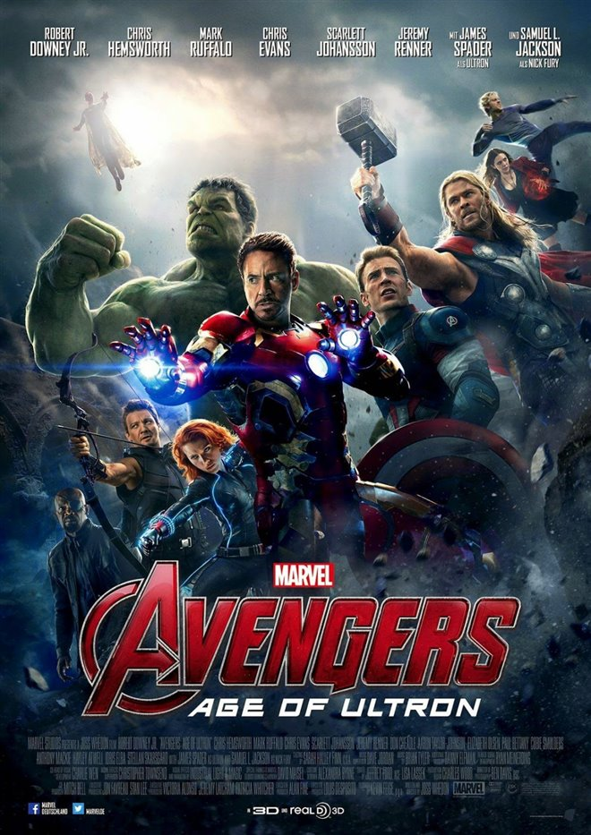 Marvel Studios 10th: Avengers: Age of Ultron (IMAX 3D) Large Poster
