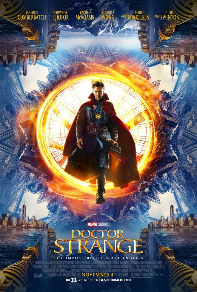 Marvel Studios 10th: Doctor Strange (IMAX 3D) Large Poster