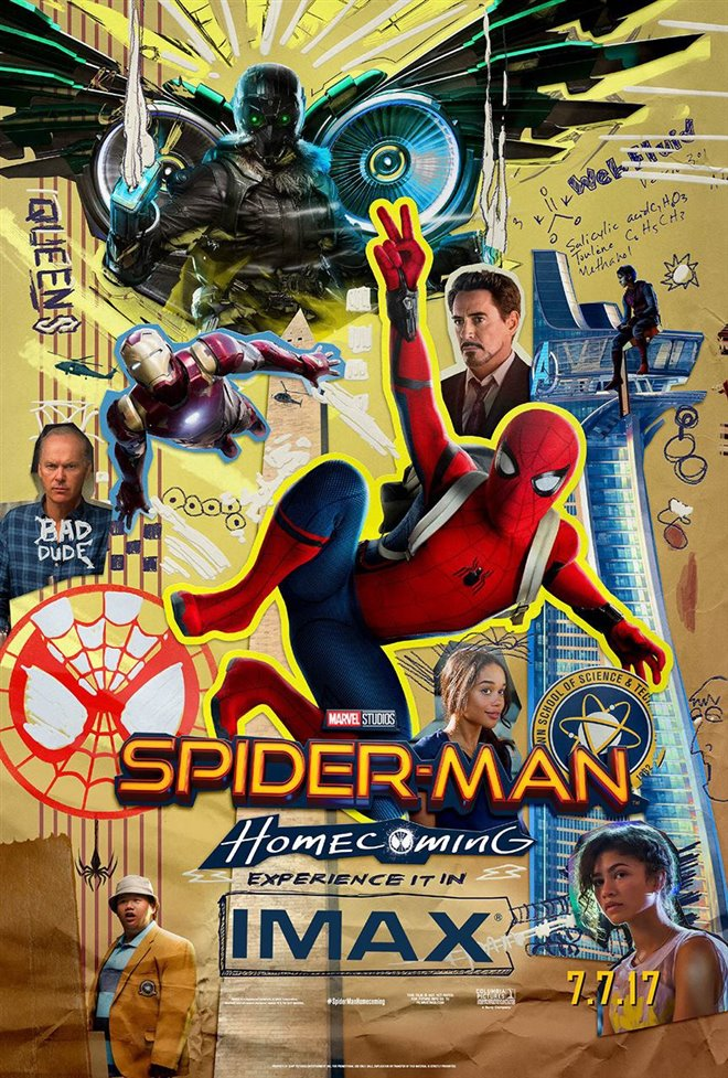 Marvel Studios 10th: Spider-Man: Homecoming (IMAX) Large Poster