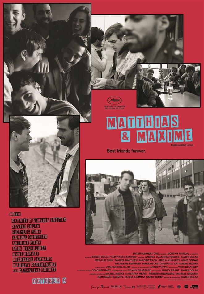 Matthias & Maxime Large Poster