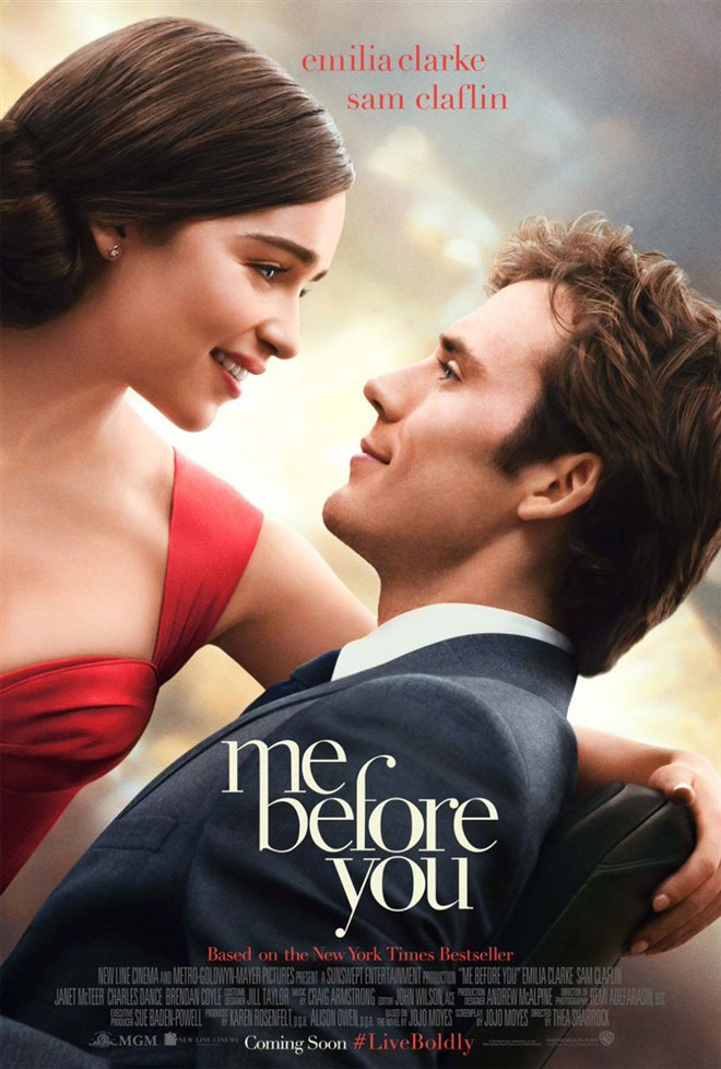 Me Before You Large Poster