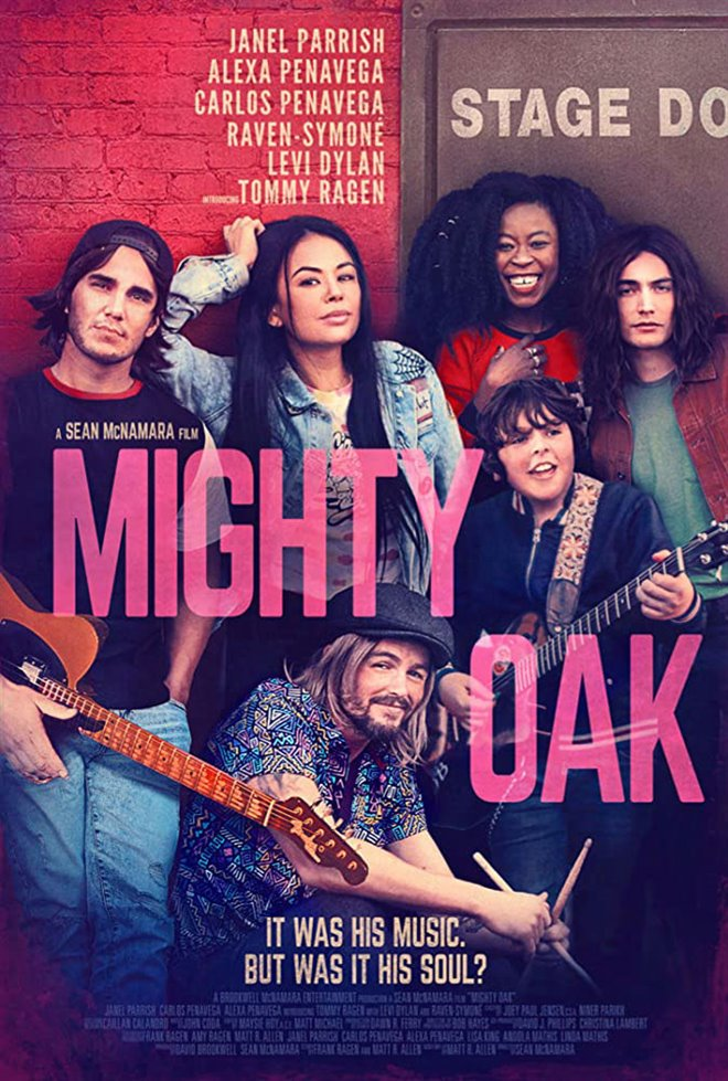 Mighty Oak Large Poster