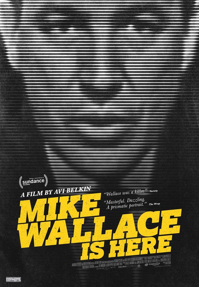 Mike Wallace is Here Large Poster