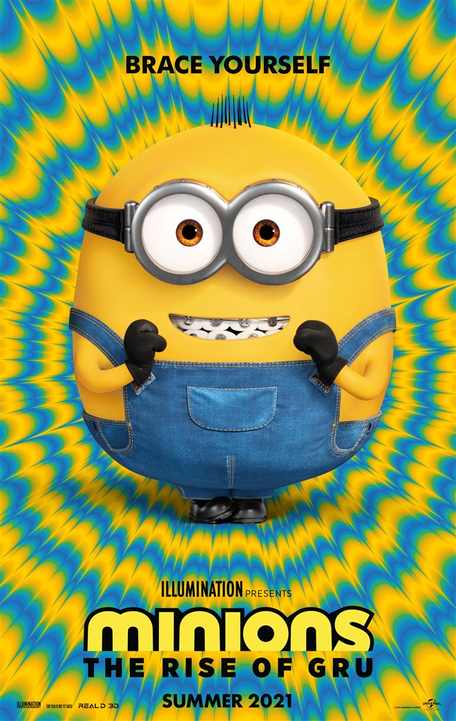 Minions: The Rise of Gru Large Poster