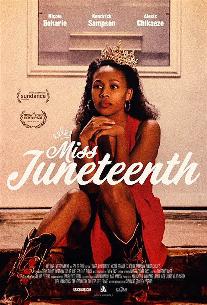 Miss Juneteenth Large Poster