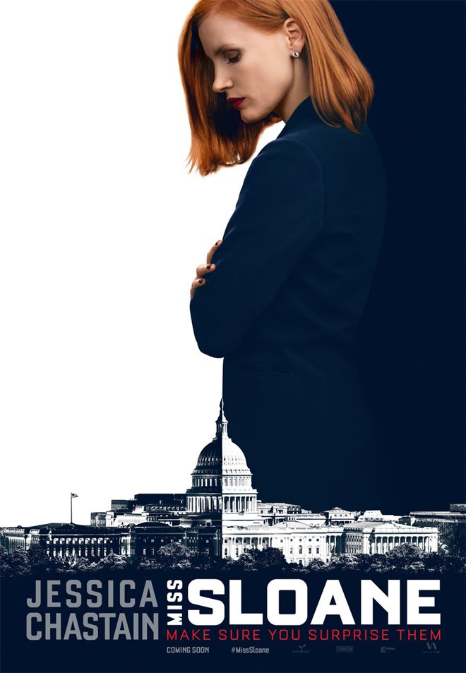 Miss Sloane Large Poster