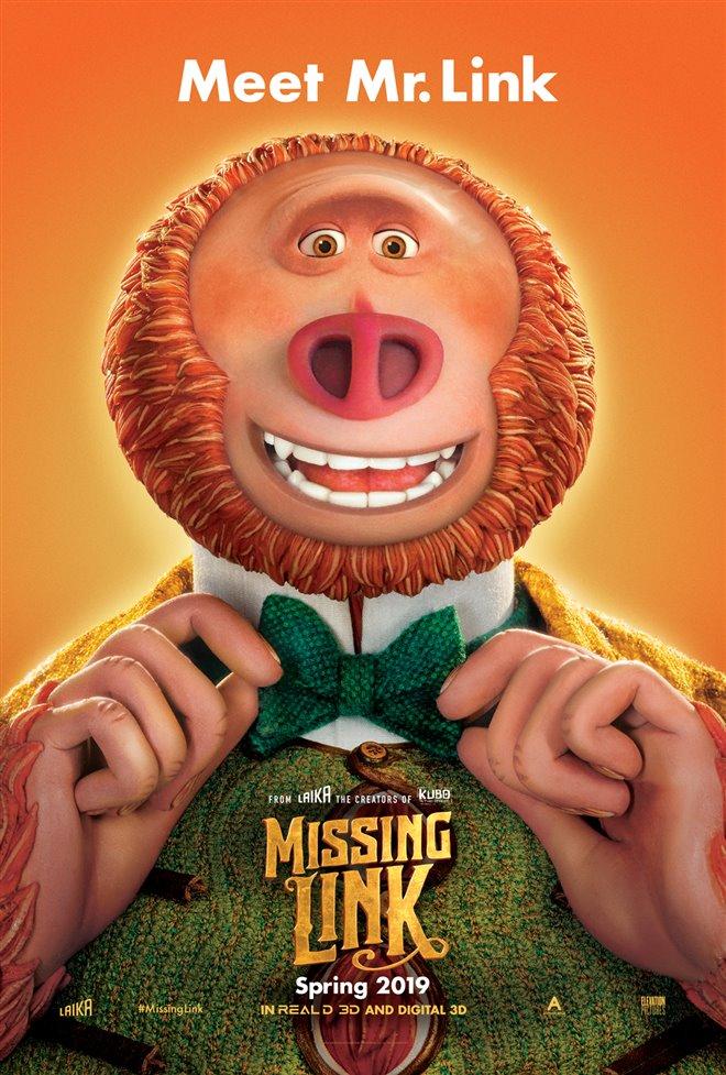 Missing Link Large Poster