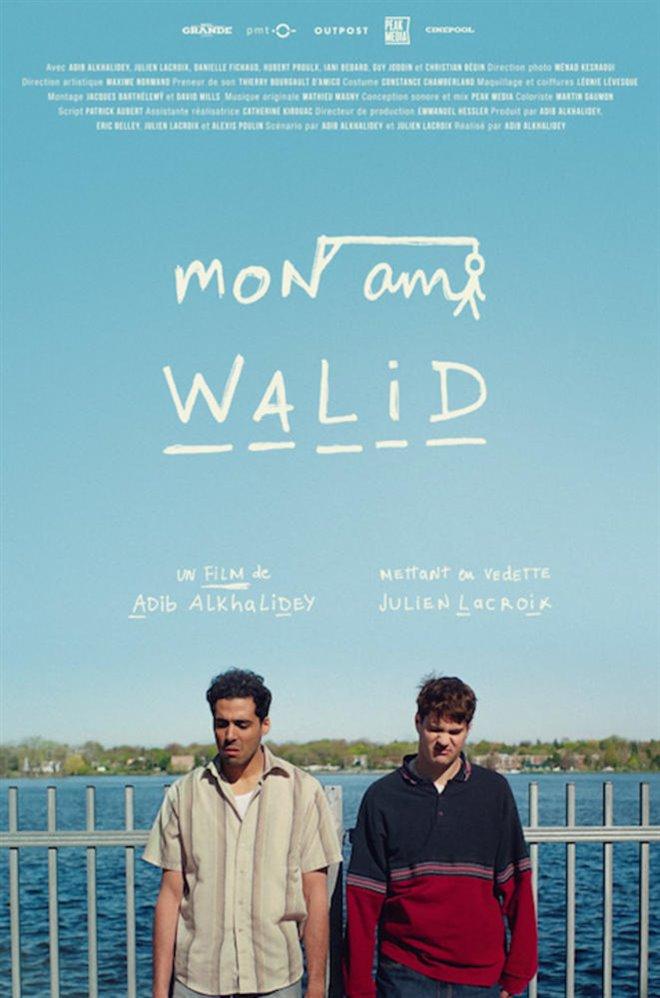 Mon ami Walid Large Poster