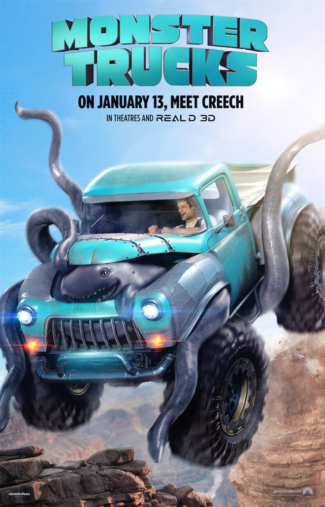 Monster Trucks Large Poster