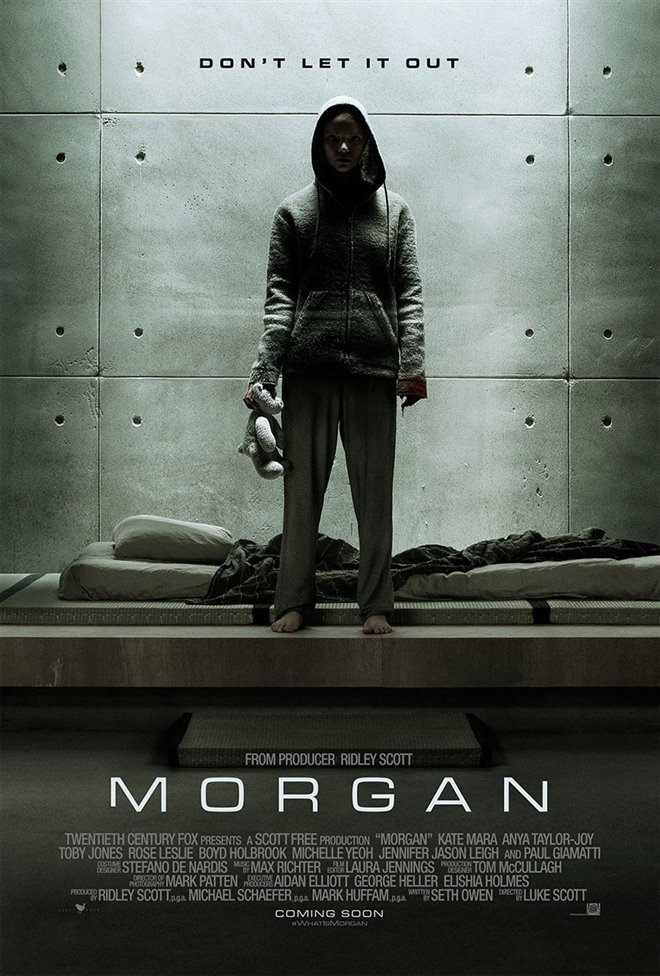 Morgan Large Poster